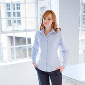Women's classic long sleeved Oxford shirt