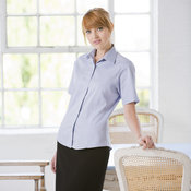 Women's short sleeved lightweight Oxford