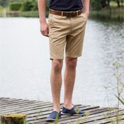 Stretch chino shorts - tag-free