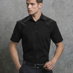 Men's Short Sleeve Business Shirt Vignette