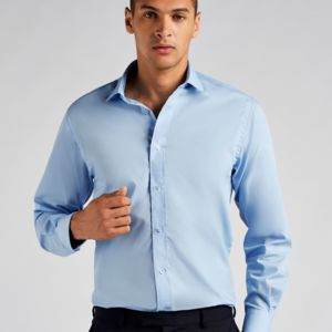 Men's Tailored Fit Long Sleeved Business Shirt Vignette