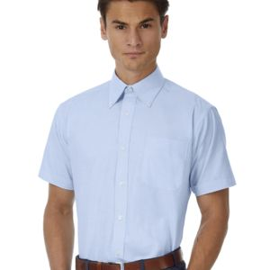 Men's Oxford Short Sleeve Shirt Vignette