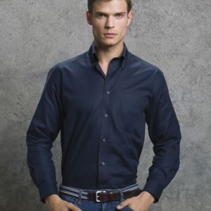Men's Workwear Oxford Long Sleeve Shirt Vignette