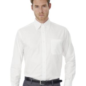 Men's Oxford Long Sleeve Shirt Vignette
