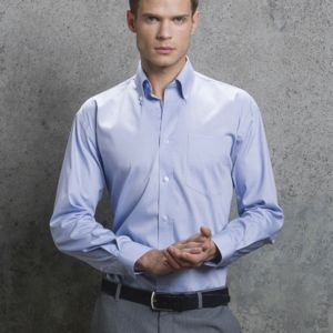 Men's Long Sleeve Corporate Oxford Shirt Vignette