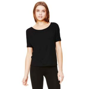 Flowy open-back t-shirt Vignette