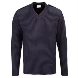 Security style v-neck sweater Vignette