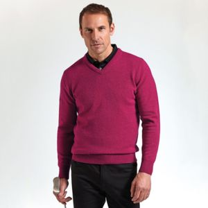 g.Lomond lambswool v-neck sweater (MKL5900VN-LOM) Vignette