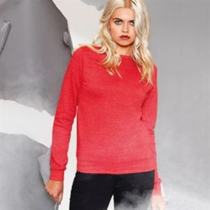 Girlie heather sweatshirt Vignette