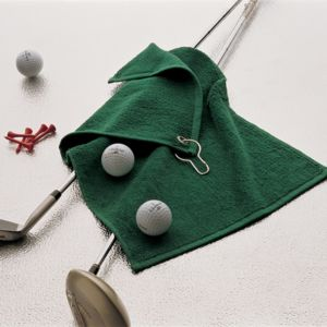 Luxury range golf towel Vignette