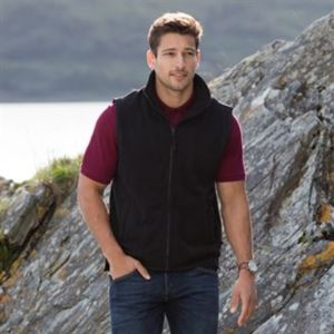Sleeveless microfleece jacket Vignette