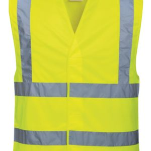 Hi-vis two-band-and-brace vest (C470) Vignette