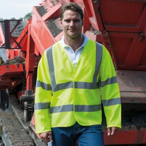High-visibility motorway coat Vignette