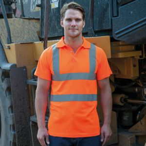 High-visibility polo Vignette