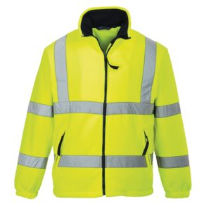 Hi-vis mesh lined fleece (F300) Vignette
