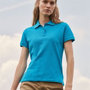 Fruit Of The Loom Lady Fit Premium Polo Vignette