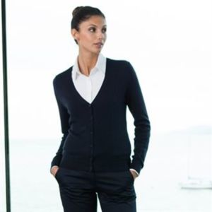Women's v-neck cardigan Vignette