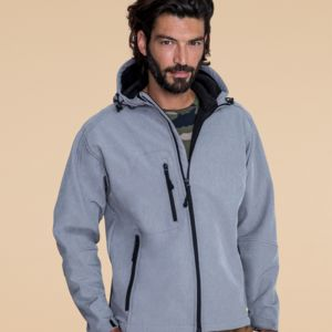 SOLS Replay Hooded Soft Shell Vignette
