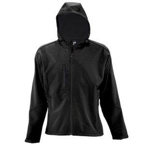 SOLS Lds Replay Hood Soft Shell Vignette