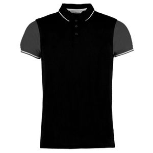 Kus. Kit Contrast Tipped Polo Vignette