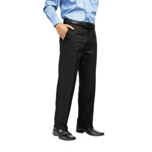 Flat front hospitality trousers Vignette