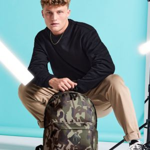 Bagbase Camo Backpack Vignette