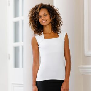 Women's sleeveless stretch top Vignette