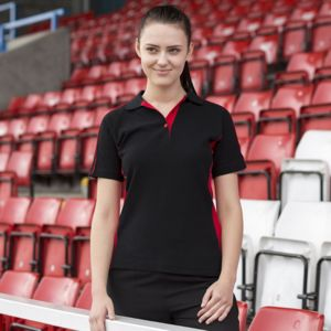 Women's sports polo Vignette