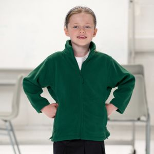 Kids full-zip outdoor fleece Vignette