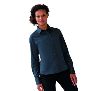 Women's long sleeve classic twill shirt Vignette