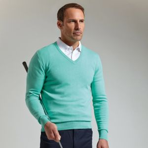 g.Eden cotton v-neck sweater (MKC6884VN-EDEN) Vignette