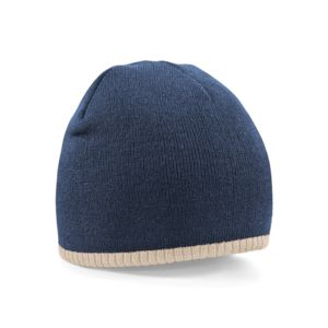Two-tone pull on beanie Vignette