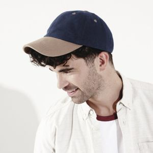 Low-profile heavy brushed cotton cap Vignette