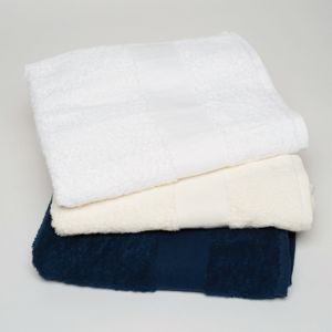 Egyptian cotton bath sheet Vignette