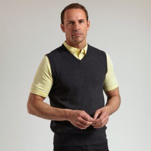 g.Thornton cotton v-neck slipover (MKC7079SO-THO) Vignette