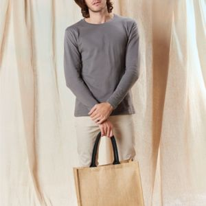 Westford Mill Classic Jute Shopper Vignette