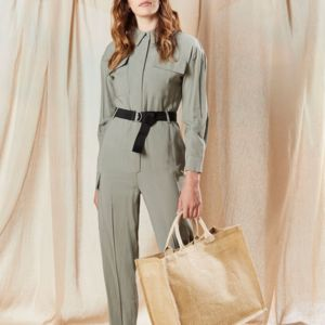 Westford Mill Jumbo Jute Shopper Vignette