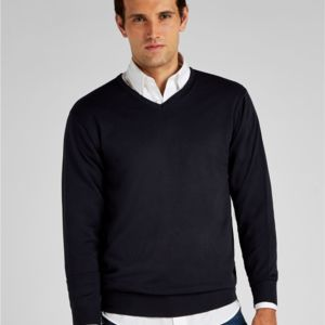 Men's Arundel Long Sleeve V-Neck Sweater Vignette