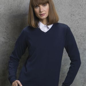 Ladies' Arundel Long Sleeve V-Neck Sweater Vignette