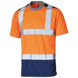 High-visibility two-tone t-shirt (SA22081) Vignette
