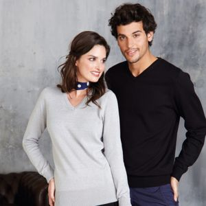 Women's v-neck jumper Vignette