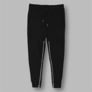 Fredrick jog bottoms with zip detail Vignette