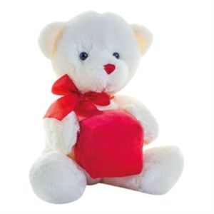 Heart bear Vignette