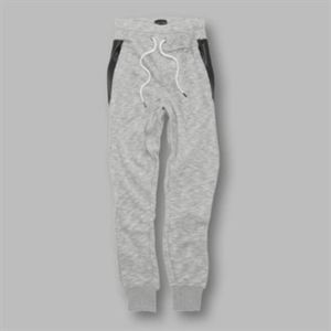 Grant - panelled cuffed joggers Vignette