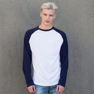 Long sleeve baseball t-shirt Vignette