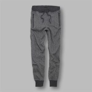 Hugo - detailed cuffed marl joggers Vignette