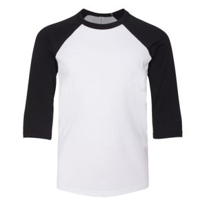 Youth ¾ sleeve baseball tee Vignette