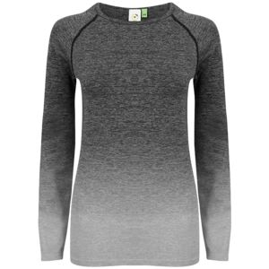 Women's seamless fade out long sleeve top Vignette